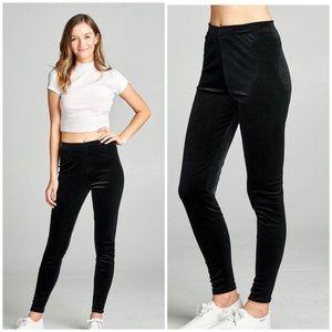 Pants - 5⭐️BLACK VELVET- LEGGINGS